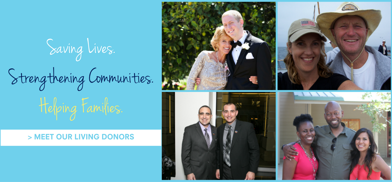 Meet living kidney donors and recipients and hear their stories about how living kidney donation changed their lives.