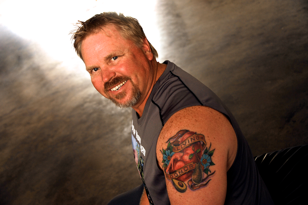 Rick glover for Can a person with tattoo donate blood